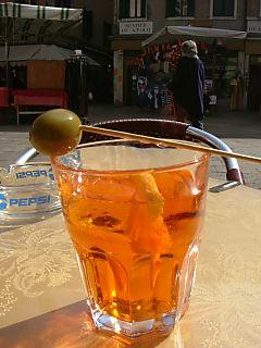 Sprizz National drink in Venice