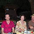 Robert's three Teds, Nicola and Giles