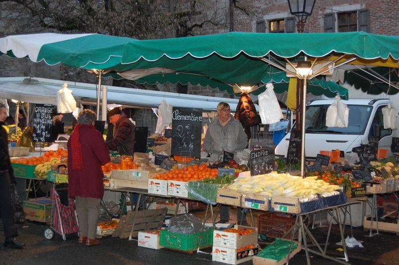 Cahors market stall