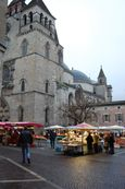 Wednesday market day at Cahors