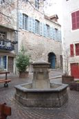 A charming little square and fountain
