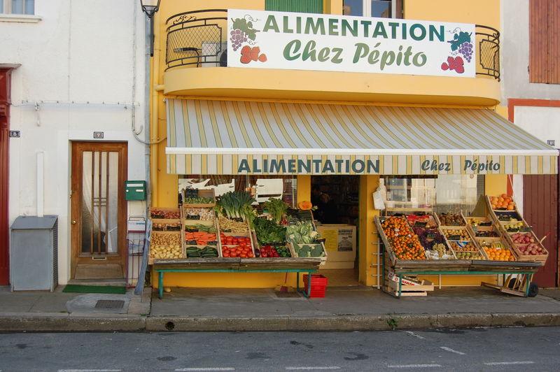 Buzet greengrocer