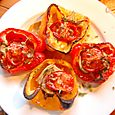 oven baked peppers