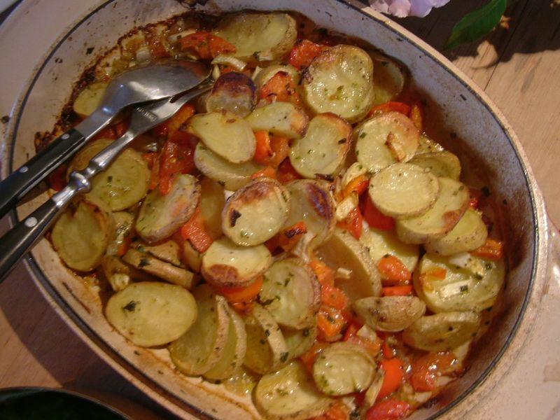 Carluccio's peasant potatoes