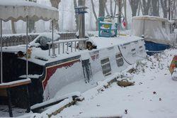 Winter in Caumont 12 degrees below zero