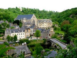 Lehon Abbey near Dinan