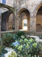Lehon Abbey Cloisters