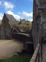 Part of the castle at Fougeres 2