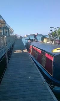 The pontoon at Grau D'Agde
