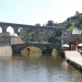The Bridge and Viaduct at Dinan Port