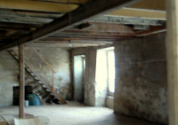The adjoining room on the first floor