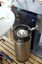 40 0ints of cask conditioned and without input of CO2