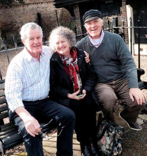 Bro' Robert, Sis. Judy and me